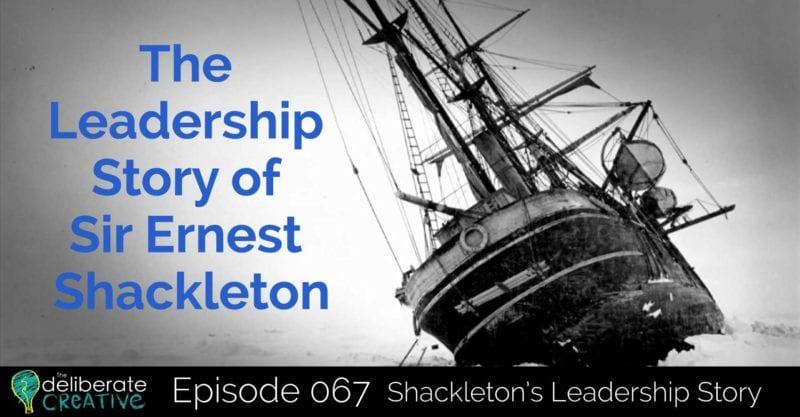 leadership and shackleton The shackleton leadership experience is based on the harrowing and inspirational 22-month antarctic voyage of sir ernest shackleton and 27 men under his command aboard the endurance from 1914-1916 trapped in ice before reaching his team's destination of the south pole, facing dwindling supplies and with no.