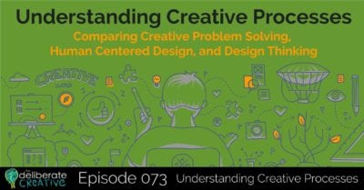 The Deliberate Creative Podcast: Episode 73 Understanding Creative Processes